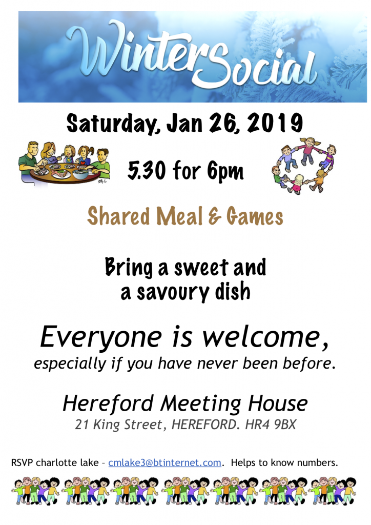 Winter Social at Hereford MH