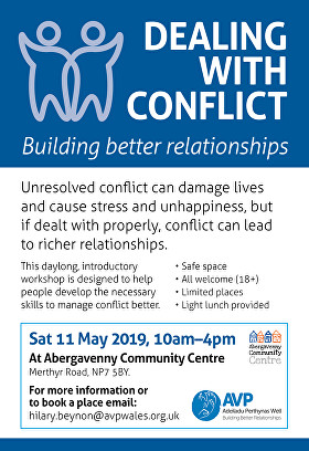 Dealing with Conflict - AVP Workshop